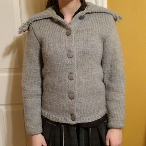 Vintage Knit Winter Jacket. 1967-1968